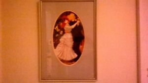 Renoir print professionally framed and matted