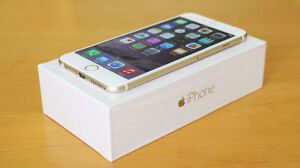 Gold iPhone 6 with Virgin