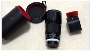 New - Canon FD 200mm/ 2.8 with extender 2x