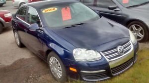 2008 Volkswagen Jetta GL Sedan  NEW MVI