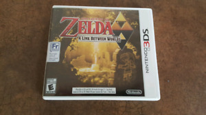 selling 3ds Zelda a link between worlds for 30 dollars