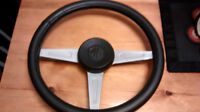 Complete Steering Wheel and Hub 1975 Midget