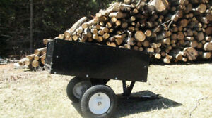 Steel ATV Dump Cart