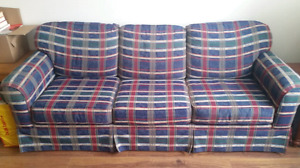 Plaid Couch