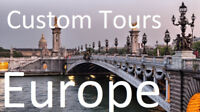 Europe Custom Tours with Air from Saint John in 2018-2019