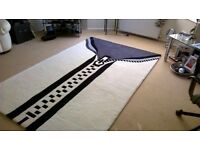 Quirky retro large rug