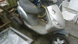 Piaggio 125cc scooter