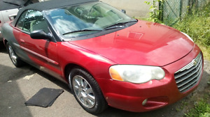 Im trading my 04 Sebring convertible Limited