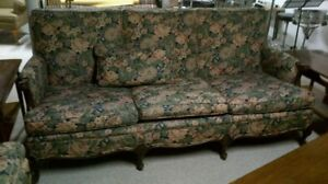 Retro couch and armchair