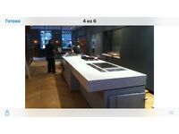 We have brand new, real stone Quartz worktop