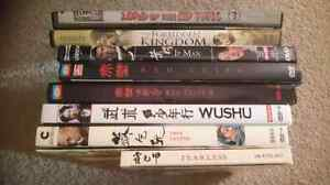 Lot of chinese martial art movies