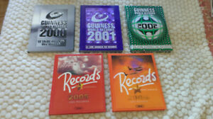 Collection livres Guinness des Records | Books | 2000 - 2006