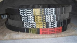 Snowmobile belts - Dayco for Vintage