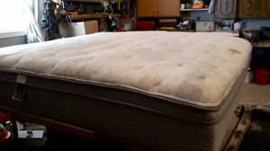 Beautyrest King Size Bed-Almost New