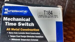 MECHANICAL TIME SWITCH, NEVER USED