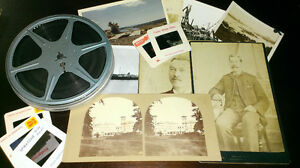 Photos, Negatives, Slides, Film, Stereocards, Postcards, Etc