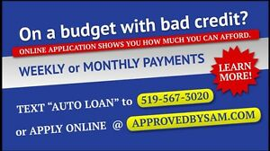 300 - HIGH RISK LOANS - LESS QUESTIONS - APPROVEDBYSAM.COM Windsor Region Ontario image 3