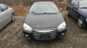I have a 2004 Chrysler Sebring with a 2.4 for sale