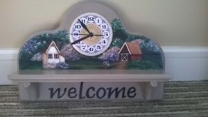 Hand crafted clock