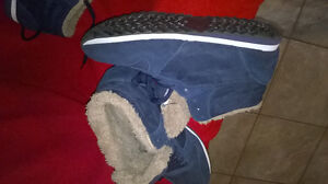 New sneakers on fur... unisex... new  WARMED