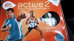 Wii active 2 personal trainer NEW