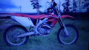 Barely used 2008 crf450r