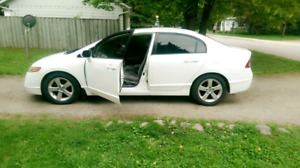 2007 Honda Civic-Ex Sedan