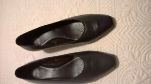 NATURALIZER SHOES-TWO PAIRS-SIZE 8- 2INCH HEEL-$18.00 each pair