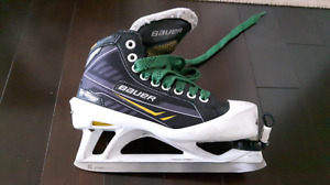 Bauer supreme goalie skates one.7