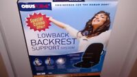 Lowback Backrest Support System Obusforme