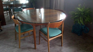 8 Mid Century Folke Ohlsson for Dux dining chairs