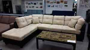 2pc. Sectional Sofa 2 Pillows Included Price $1299