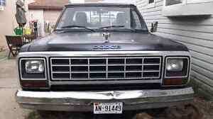 1985 Dodge d100 project TRADES ONLY