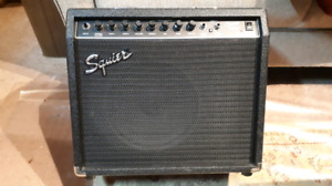 Fender Squier Champ 25 GR guitar amp, amplifier