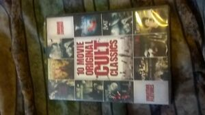10 Classic Cult horror movies on 1 Dvd