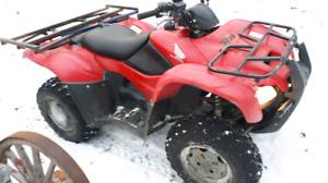 2008 Honda 420 quad