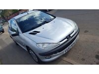 Peugeot 206 petrol moted 275 no offers