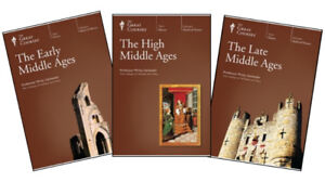 Early/High/Late Middle Ages (complete DVD set) - NEW