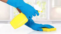 Hiring hardworking, professional, reliable cleaner.