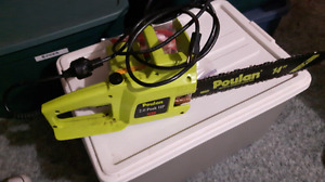 "Poulan 14"" Electric chainsaw"