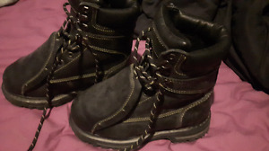 girls work boots size 5