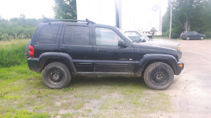 2002 Jeep Liberty for parts.