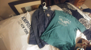 Boys lot. Heavy zip up hoodie, 2 T-shirts. Name brand $20