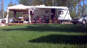 Travel Trailer Jayco Jayflight 25BHS Roulotte