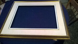 """Vintage Picture Frame and Mat"""
