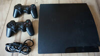 160GB PS3 Slim - 17 Games & 2 Controllers
