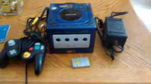 Nintendo GameCube complete with a controller and memory card
