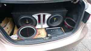 "2 x 12"" PUNCH PL1 600WATT SUBS (JUST THE SUBS)"