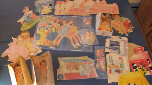 Collection KIT VINTAGE  Paper Doll