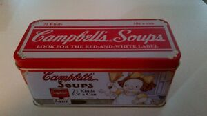 Campbell's Soups Can Kitchener / Waterloo Kitchener Area image 1